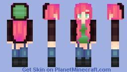 ~ Shirley ~ {Skin Trade ~ Kapbles} ♥ ~ mαηgα ~ ♣ Minecraft Skin