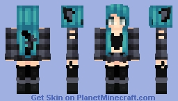 Cheshire Minecraft Skin