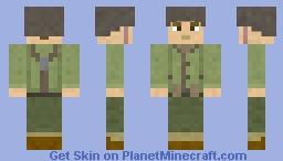 WWII American GI Minecraft