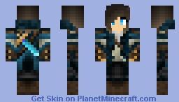 Girl Adventurer Minecraft Skin