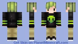 Aliens!!!~ Minecraft Skin
