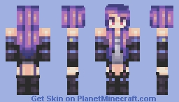 Dark kitteh >;3 Minecraft Skin