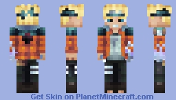 Boruto Uzumaki - Boruto: Naruto The Movie Minecraft