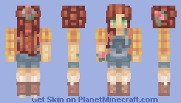 Country Girl Minecraft Skin