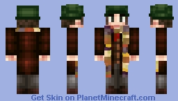 The Fourth Doctor (From Doctor Who. This is not a medical doctor.) Minecraft