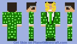 Green money bags Minecraft Skin