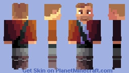 Star lord (read description) Minecraft Skin