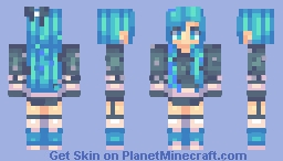 Mittens~  I edited my last skin and made it into this