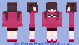 Madotsuki  Minecraft Skin