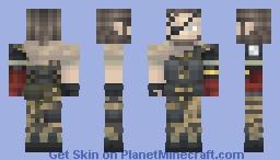 MGSV - Venom Snake Minecraft Skin