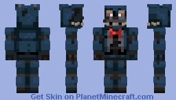 Nightmare Bonnie FNAF 4 Minecraft Skin