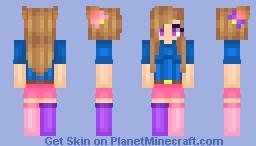 ~ Cнσϐιτs - Meggles - Fan Skin Remake - Looks Better in 3D - ♥ Minecraft Skin
