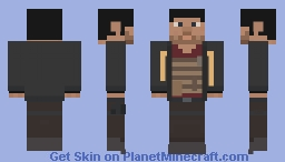 Hardline: Nicholas Mendoza Minecraft Skin