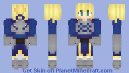Saber from Fate/stay night ~ Collab with Trifer Minecraft Skin