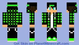 Green Plaid Teen
