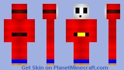 Shy Guy Minecraft Skin