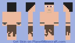 Human Medieval / Fantasy Slave Minecraft Skin