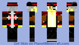 Brandon Heat (Gungrave 64x64) Minecraft Skin
