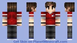 xMoa Skin Minecraft Skin