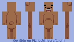Grizzly Bear (We Bare Bears) Minecraft