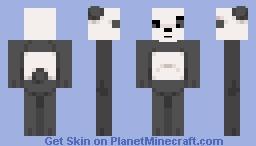 Panda Bear (We Bare Bears) Minecraft