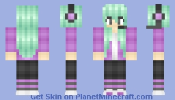 Ɓυввℓєgυм ❋ Girl Gamer Minecraft Skin