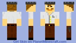Mecmax445 Business Roboticist Skin Minecraft Skin
