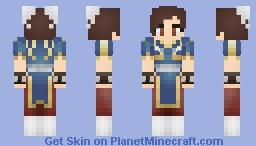 Chun Li Minecraft Skin