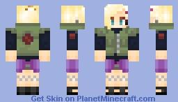 Ino Yamanaka 4th Shinobi World War Minecraft Skin