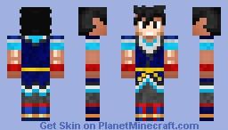 Goku - Dragonball Super Minecraft Skin