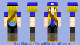 The Girl of mails Minecraft Skin