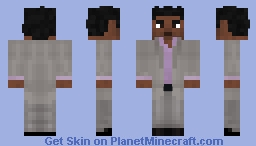 Masrani - Jurassic World Minecraft Skin