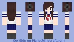 ღ Misaki ღ Japanese School-girl Minecraft Skin