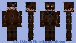 Nightmare Freddy (FNAF 4) Minecraft Skin
