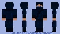 Realistic Ninja Minecraft Skin