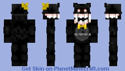 Nightmare (FNAF 4) Minecraft Skin