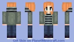 [TWS] Natasha Romanoff Minecraft Skin