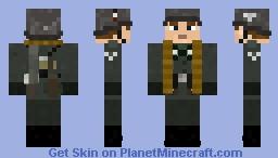 WW2 Wehrmacht Mg Gunner Minecraft