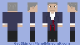12th Doctor (from xbox) Minecraft Skin