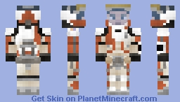 Ares 3 Mission Suit Minecraft Skin