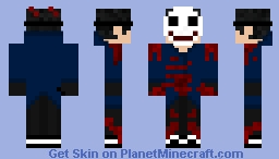 'Bloody Anarchy' Minecraft Skin