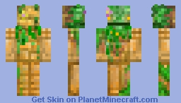 Pretty ancient forest Bubz Minecraft Skin