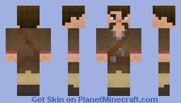 Chinese Martial Arts Master Minecraft Skin