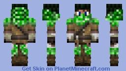 CREEPER  HUNTER (ЯΣMΛƧƬΣЯΣD) Minecraft Skin