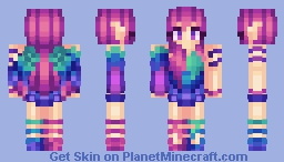 Mnemosyne, The Mythical Bird [Into The Woods | Including Story] Minecraft Skin