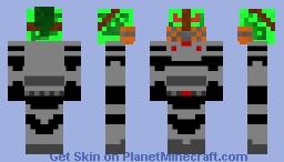 Putrid Spawn: Academy Minecraft Skin