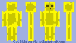 Yellow Slime (NOW 3D) Minecraft Skin