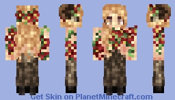 Faun of the Celtic Forest - Contest +1.8(includes story) Minecraft Skin