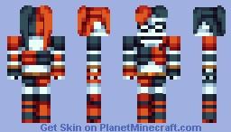 Harley Quinn - Detective Comics Minecraft Skin