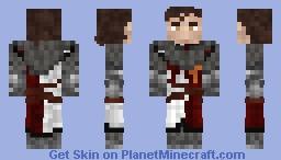Chain-Scowled Banner-man 1.8+ Minecraft Skin